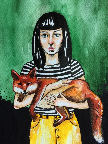 THE GIRL WITH THE FOX